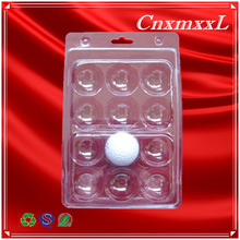 golf balls clamshell folded plastic soft thin blister thermoforming trays