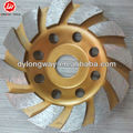 "100mm flower type 4""stone cup grinding wheel,turbo grinding cup wheels,granite diamond cup grinding wheel."
