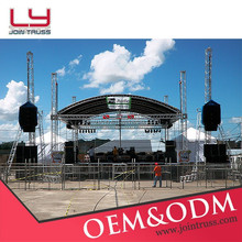 2015 New aluminum finish Outdoor stage truss design, Roof truss design , Curved truss on Sale