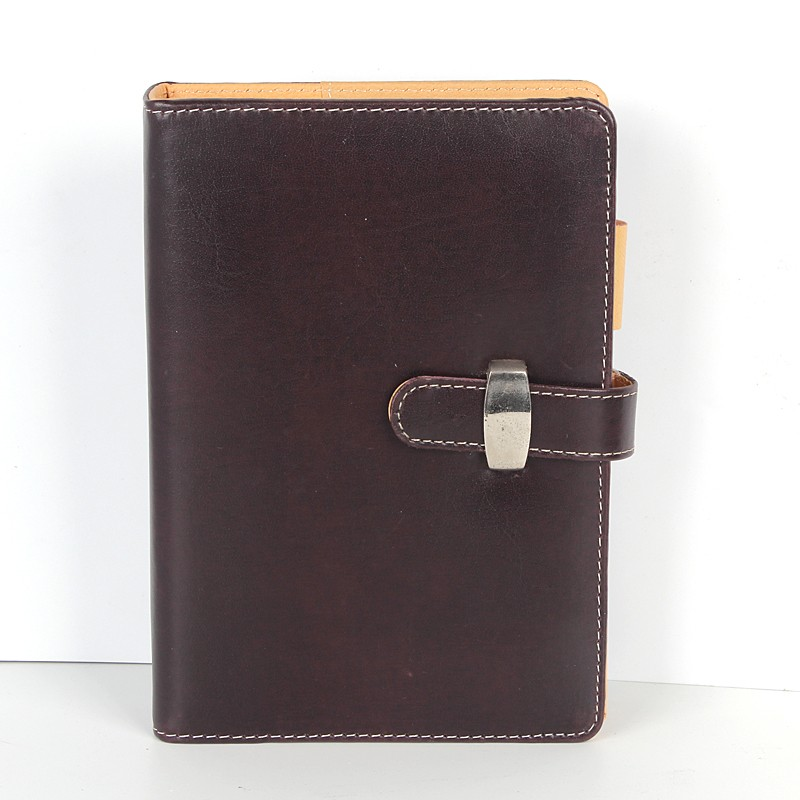 leather cover pocket notebook /colorful notebook leather customized logo manufacturer cheap