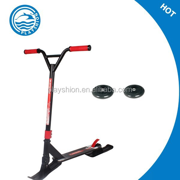 Wholesale plastic snow scooter /snow mobile scooter 2 in 1