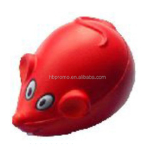 Custom Anti Soft and Squishy Mouse Animals Toys Stress Balls