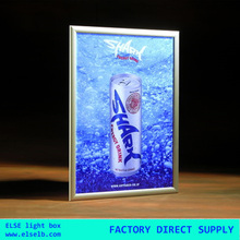Super slim aluminum A0 A1 A2 A3 A4 snap frame led light box