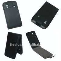 Litchi Real Leather Case for Samsung Galaxy Ace S5830