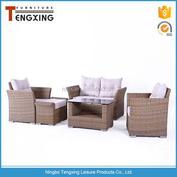 Europe type style high quality portable wicker furniture