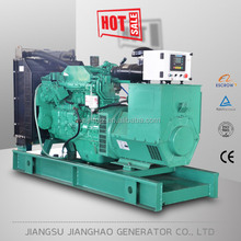 open type with 10 hours base fuel tank diesel generator 120 kva power generation 120kva generator