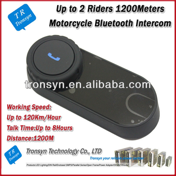 China Supplier 1000M Full-duplex motorcycle interphone