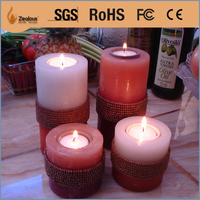 environment friendly smokeless oil flame candle
