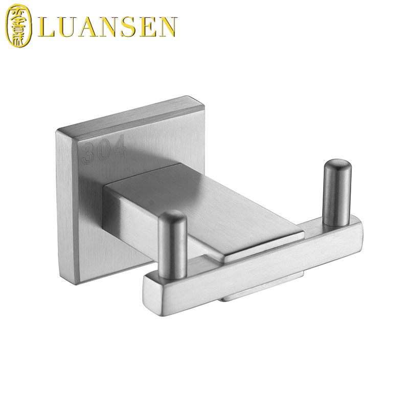 High end stainless steel square toilet paper roll holder