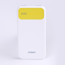 Promotional gift Colourful Fashion Portable Power Bank 10000mah External Battery Charger Power Bank for Cell Phone