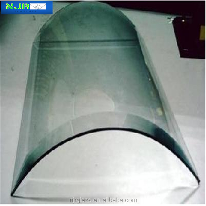 12mm architectural curved glass