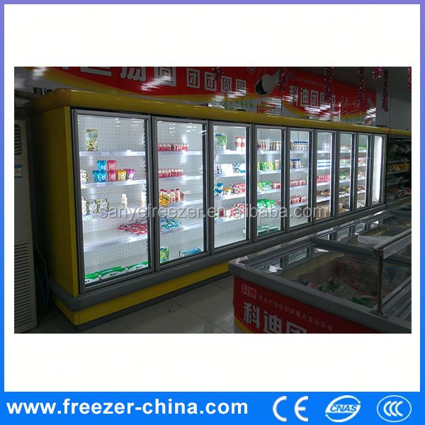 glass door refrigerator freezer,can freezer,Ideal for Ice Cream Promotions-15