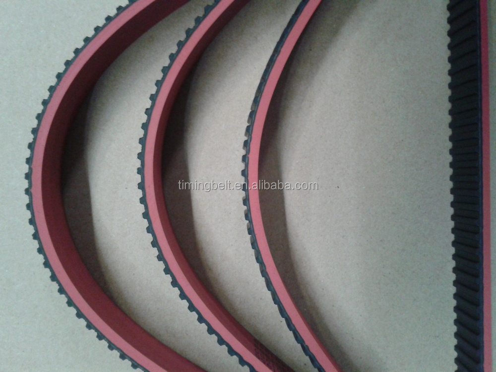 Single teeth Rubber industrial timing belt