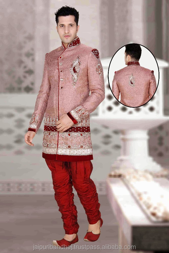 Indian Wedding Dress Sherwani Designs For Men