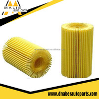 Auto oil filters online high dust holding capacity 04152-38020 best car change oil filter
