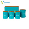 Galvanized steel kitchen food storage boxs