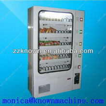 Mini vending machine for snack/Custom vending machine with 5 channels for bags or boxes packed items