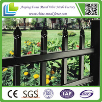 black and strong wrought iron fence/ models of gates and iron fence