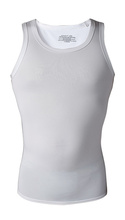 Men Compression Vest White Cool Dry Fit Breathable Running Vest <strong>Sports</strong> Top Wholesale