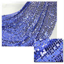 sequin with polyester mesh spangle embroidery fabric for dress