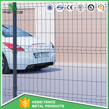 PVC coated welded galvanized iron wire mesh fence for boundary wall