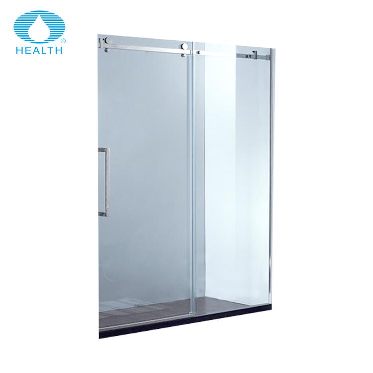 Cheap Price Double Roller Sliding Frameless Glass Shower Door Buy