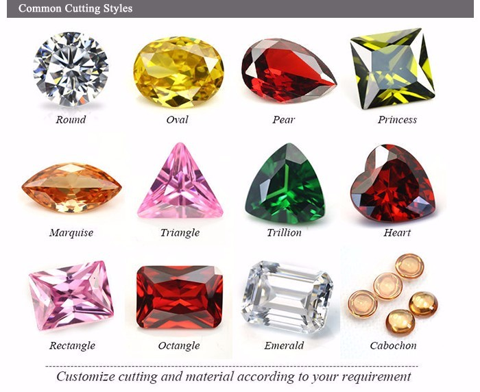 Synthetic Fashion Pink CZ Cushon Cut Cubic Zirconia Stones