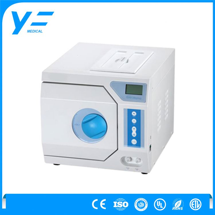 23L Class B 3-times Pre-vacuum Preceding Vacuum Drying Vertical Stainless Steel Autoclaves