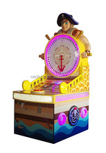 Pirate Treasure coin operated indoors redemption game machine win lottery ticket amusement machine