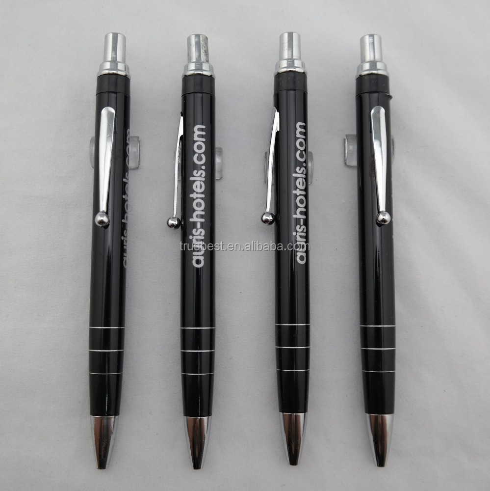 good quality anodized aluminum pen , advertising ball pen