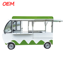 Electric mobile fast food cart ,hamburger /hotdog/waffle mobile food truck ,mini truck food