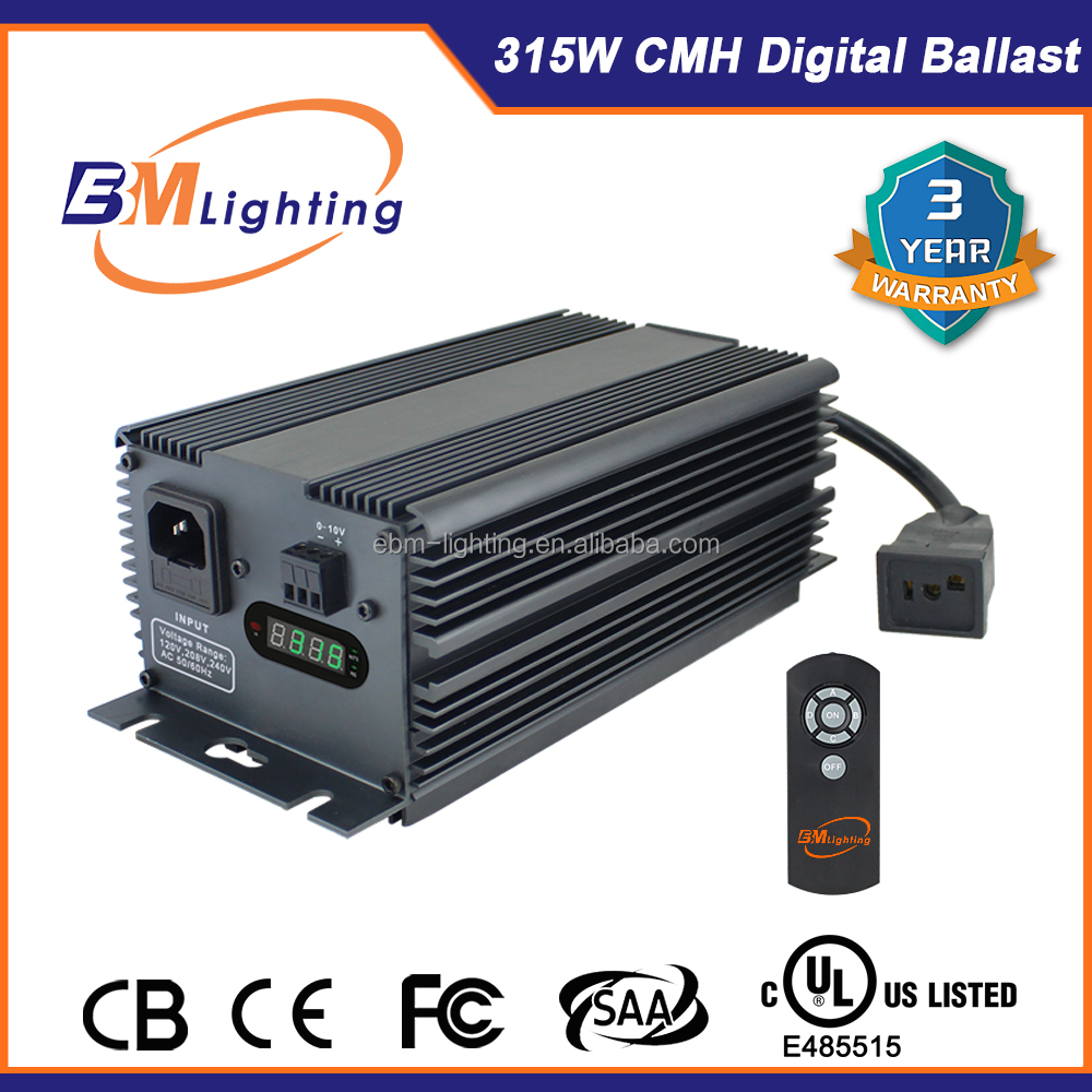 EBM Factory 315W CMH hydroponics ballast Grow Lights with UL