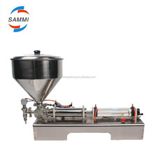 Pneumatic cream filling machine for medicine,daily life products, food