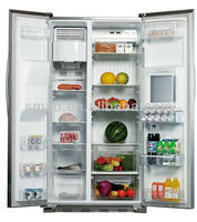 two doors refrigerator
