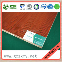 Cheap Melamine Laminated Chinese Fir Solid Wood Ecological Board