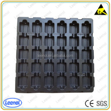 ESD Black blister packaging for Electronic Component
