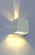 Wall Fixture Lighting / Square Outside Lamp / Outdoor LED Wall High Power