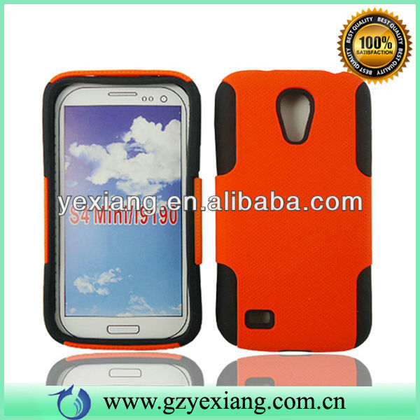 Plastic Back Cover Skin Soft Silicone Cover For Samsung S4 Mini Cases
