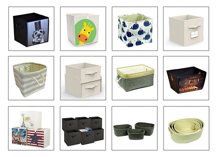 Главная Стул OEM 2017 Новый Дизайн Поддержка Печати Pet Складной Османской Хранения Багажа