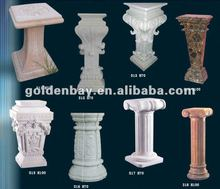 hand carved stone granite square marble pedestal