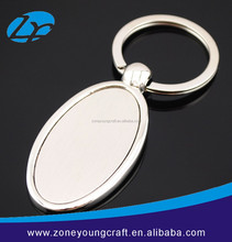 Factory price blank key chain metal