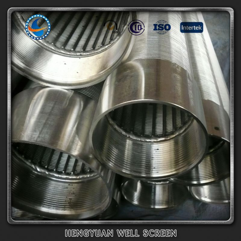 Johnson stainless steel low carbon galvanized water well screen tube