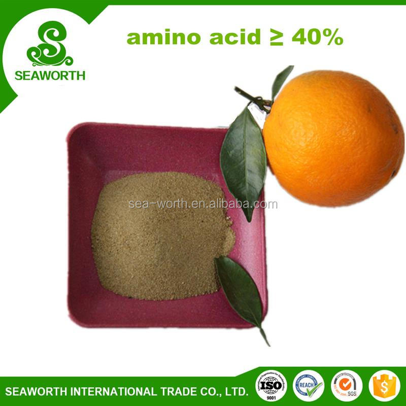 Economic amino acid fish fertilizer with SGS