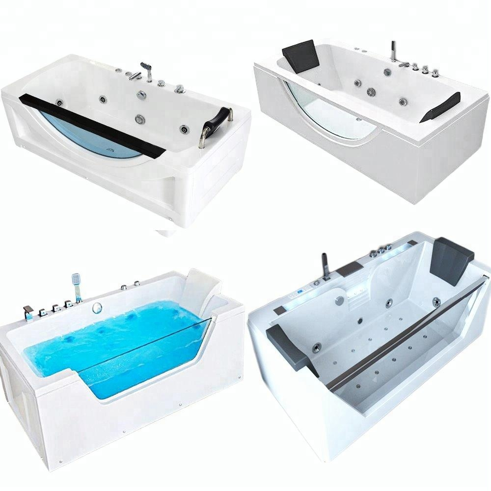 China Bath Manufacturer Bathroom Luxury Whirlpool Bathtubs And Hand ...