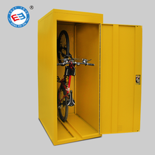 Professional customized single door metal bike lockers public bicycle storage lockers for sale