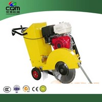 Gasoline concrete asphalt road cutter machine
