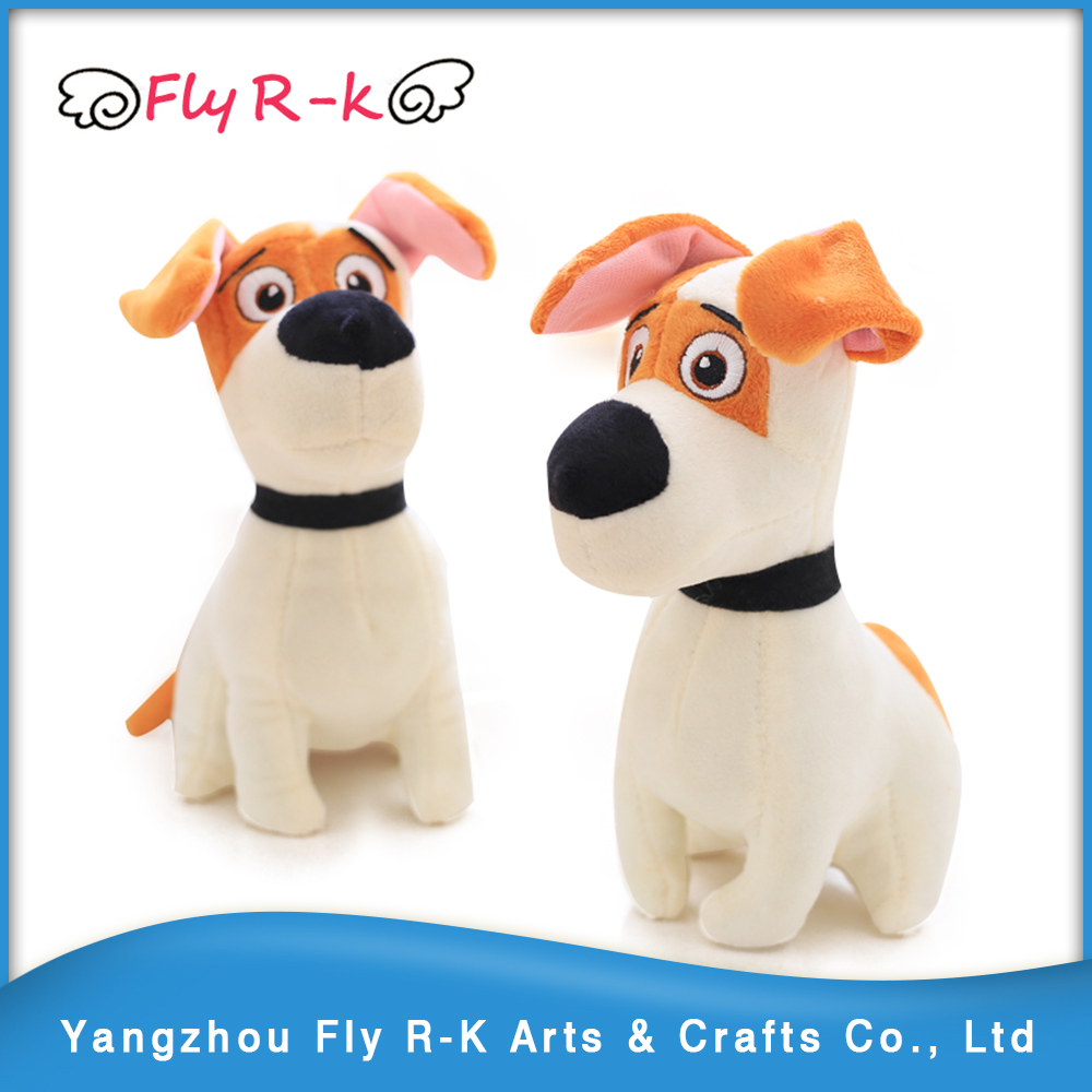 cheap wholesale dog plush toys for vending claw machine promotional gifts