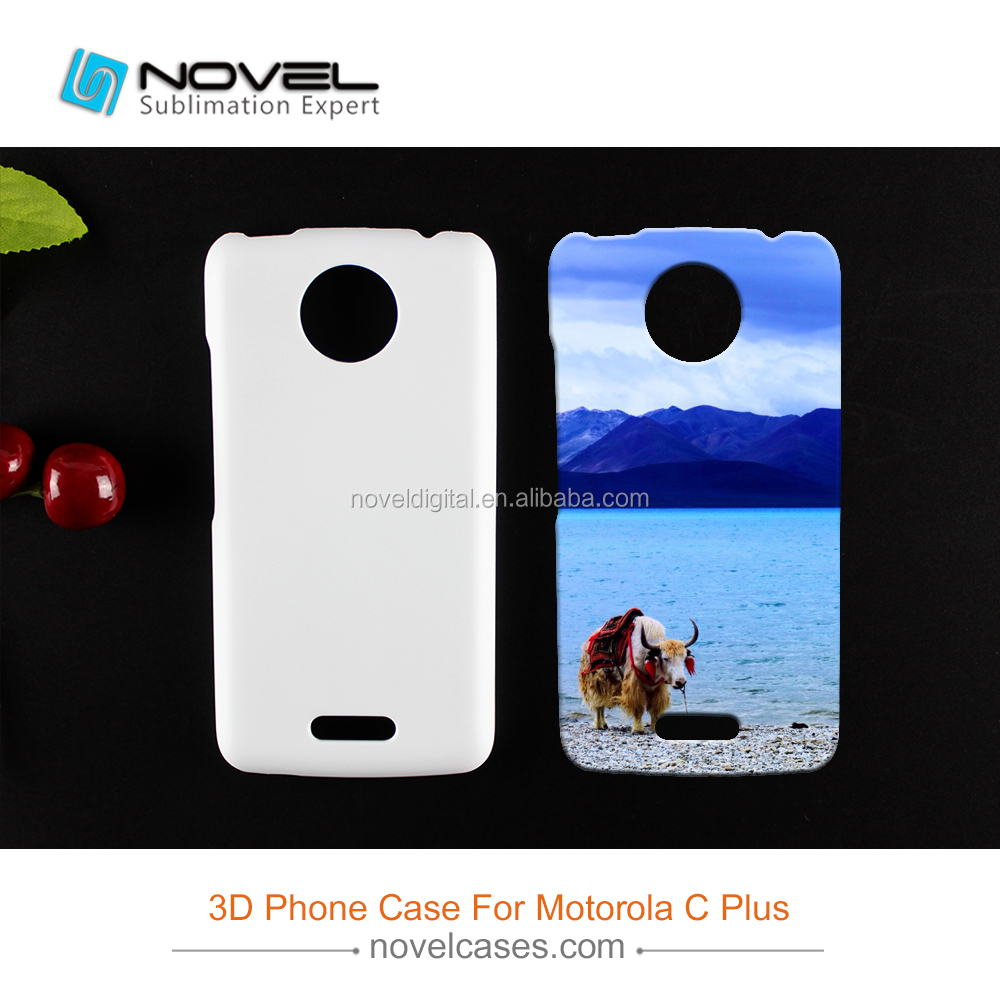 China Dustproof Phone Case For MOTO C Plus,3D Sublimation Blank Cover
