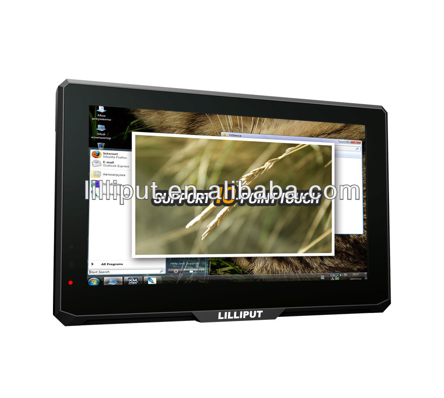 "Lilliput NEW 7"" Multi-touch Monitor With HDMI VGA input"