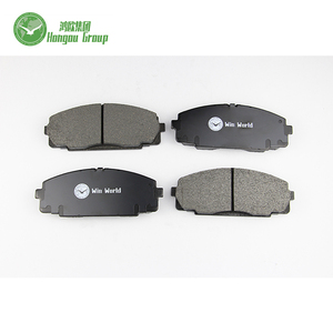 Top quality and good price car auto parts Front brake pad for Toyota D2064/04465-25040